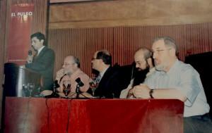 Aldo Menin, Sheik Jose Ibrahim,  Fray Domingo Cosenza,  A. Yoel ben Arye