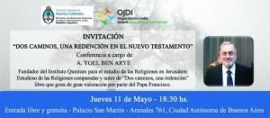 INVITACION YOEL CANCI