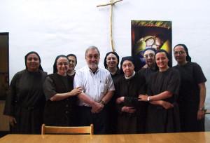 A. Yoel ben Arye con Comunidad Carmelitas Descazas de Caucete. San Juan